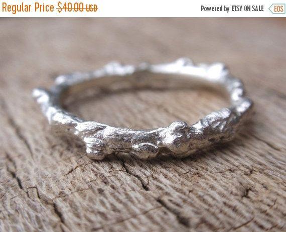 SALE 10% OFF handmade sterling silver branch ring  by preciousjd
