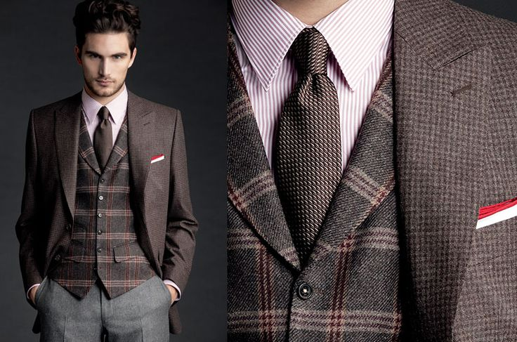 Scabal lookbook Autumn Winter 2012-13