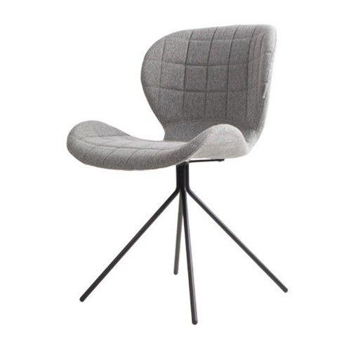 Zuiver stoel OMG Grijs met een stoer stalen frame. Zen Lifestyle is gevestigd in Wijchen bij Nijmegen en heeft showroom van 10.000 m². Natuurlijk vind je in onze winkel onze eigen producten, zoals ons aanbod vintage en retro banken, onze topsellers, zoals het vintage tv-dressoir Stan. Maar ook hebben wij de mooie collectie van Zuiver en Duchtbone en vind je er nog veel meer topmerken, zoals Be Pure, JouwMeubel, UrbanSofa, Fatboy, Makkii, Woood etc.