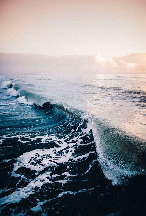 Waves / via Mary Heilmann