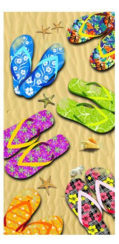 every girl need a good pair of flip-flops