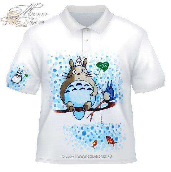 Рисуем на футболке