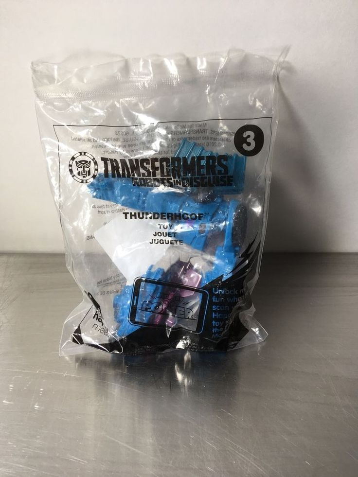 McDonalds happy meal toy Transformers Thunderhoof #3 2016 BNIP | eBay