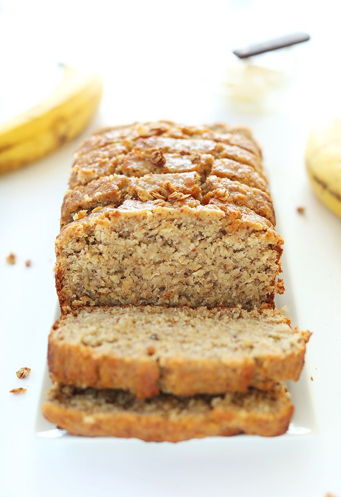 1-bowl gluten-free banana bread that's easy to make, super moist and hearty, and perfectly sweet thanks to overripe bananas, brown sugar, and maple syrup.