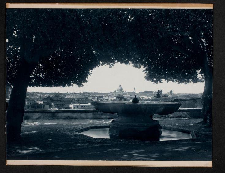 View of city through trees | Works | James Anderson | People | George Eastman Museum