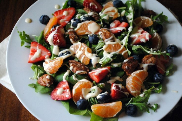 Tropical Salad with Citrus Vinaigrette | Healthy Drinks & Foods | Pin ...