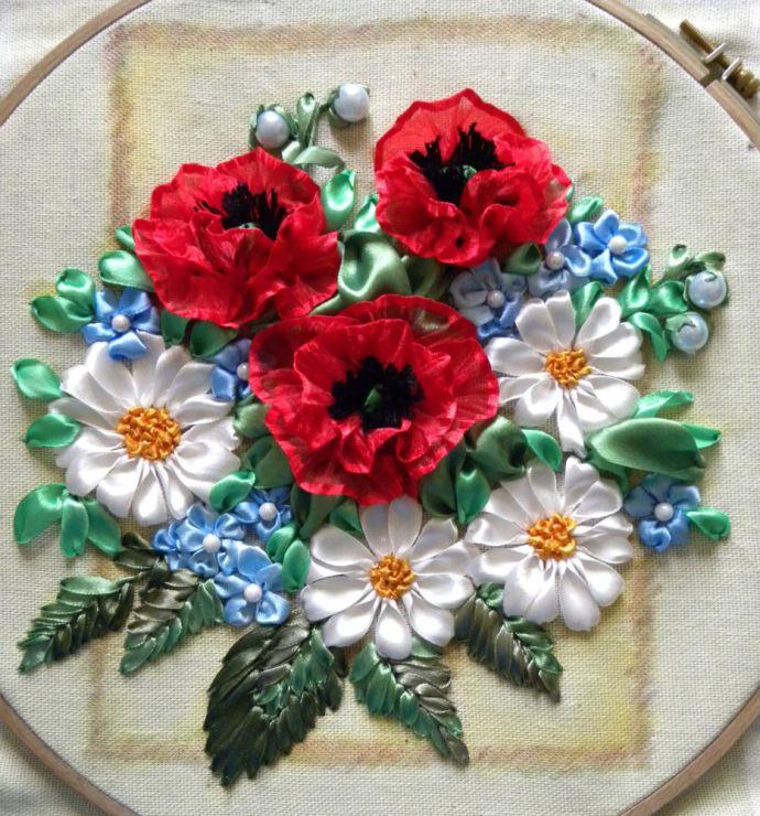 Gallery.ru / Фото #43 - Моя вышивка лентами 2 - pskov-sveta
