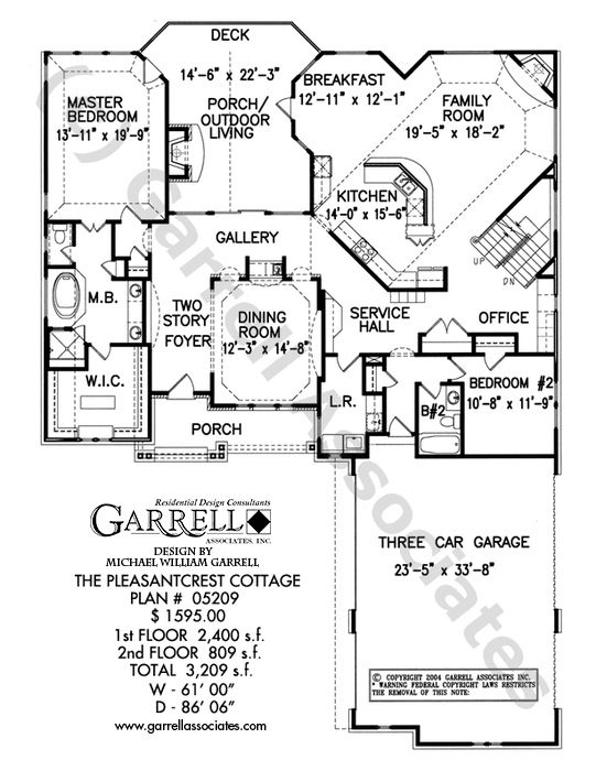 Pleasantcrest Cottage House Plan 05209 1st Floor Craftsman Style PlansTraditional