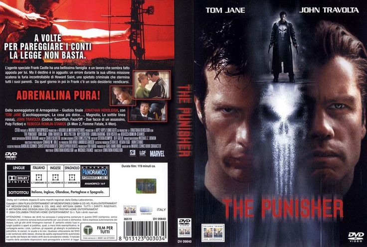 THE PUNISHER DVD Cover PICTURES PHOTOS and IMAGES  The Punisher Marvel Superhero  Punisher