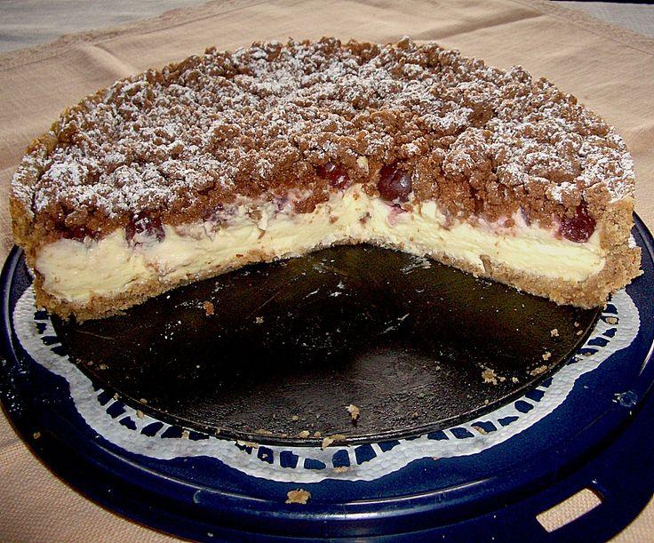 Beste Rezeptesammlung: Kirsch - Pudding - Streuselkuchen
