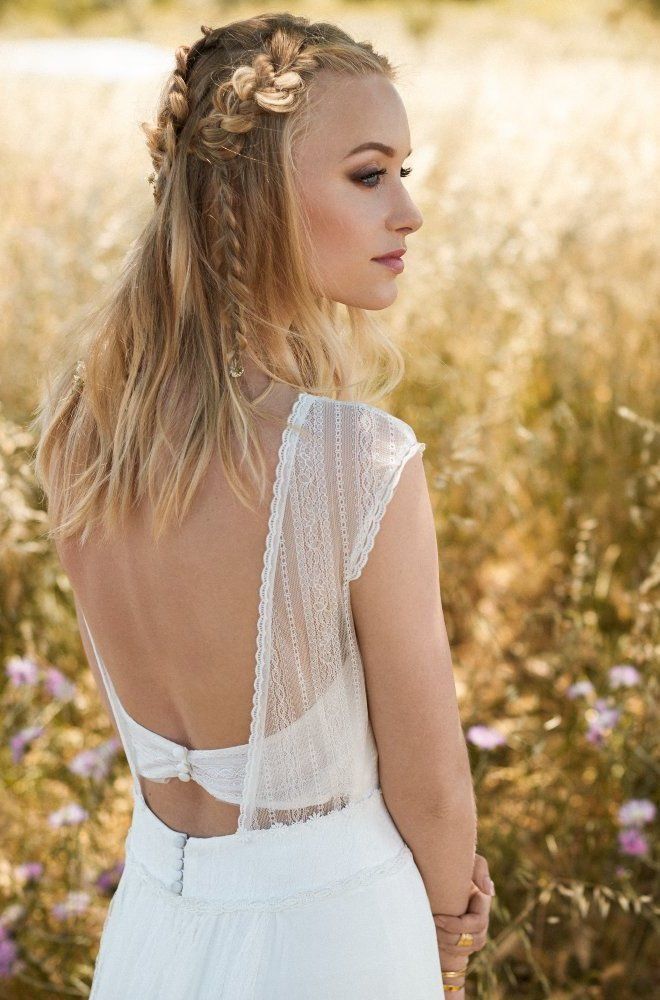 Rembo styling — 2017 Collection — Favorite: Chiffon and lace dress with a lovely…