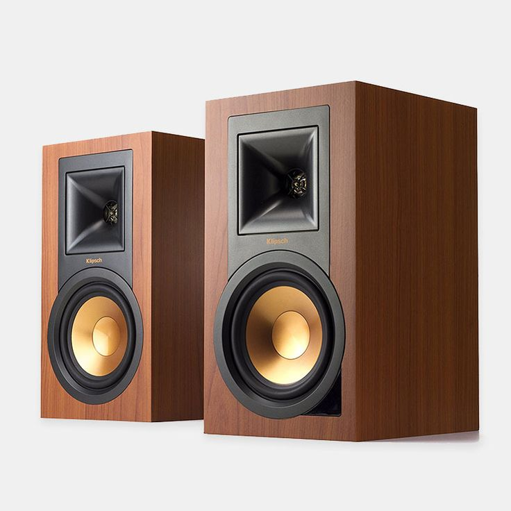 Klipsch R-15PM Powered Monitor (Pair) The R-15PM powered monitors deliver room-filling sound without taking up much space #cool-gadgets #tech #tech-gadgets#computer-speaker #loudspeaker #sound-box