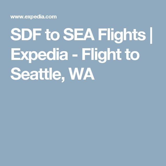 SDF to SEA Flights | Expedia - Flight to Seattle, WA