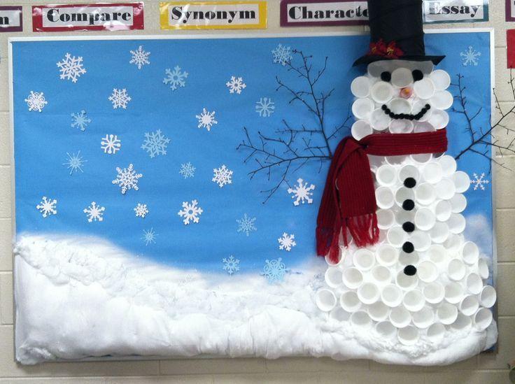 Snowman bulletin board ideas google search 4th of july for Snowman design ideas