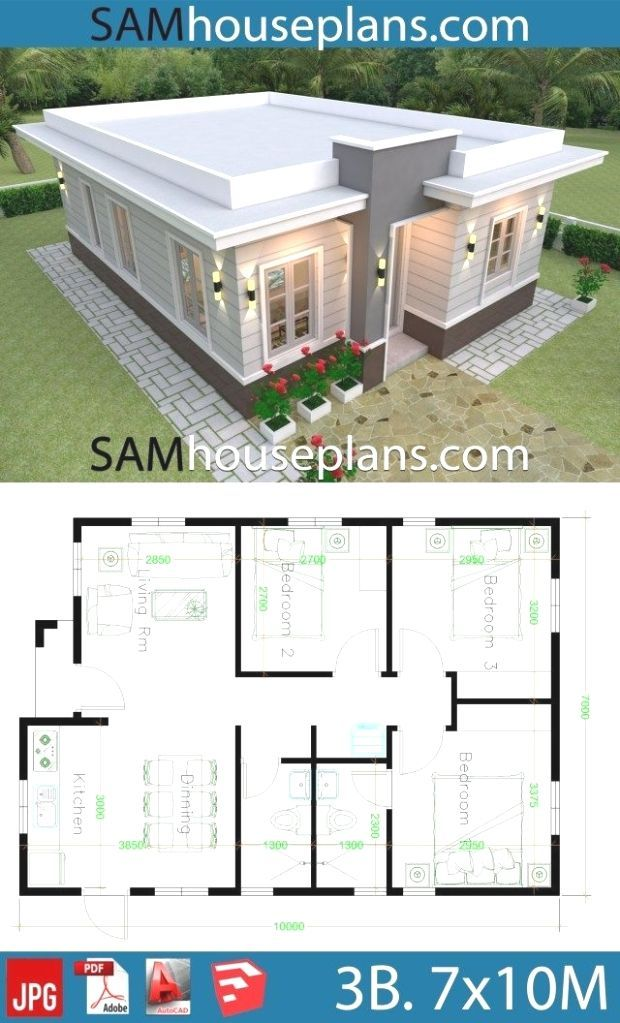 Pin By Yukiko Nguyễn On House Plans House Roof Design Modern Bungalow House House Construction Plan