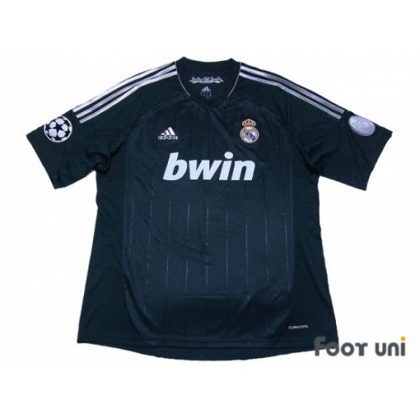 Photo1: Real Madrid 2012-2013 3RD Shirt Champions League Patch/Badge Champions League Trophy Patch/Badge 9 adidas - Football Shirts,Soccer Jerseys,Vintage Classic Retro - Online Store From Footuni Japan