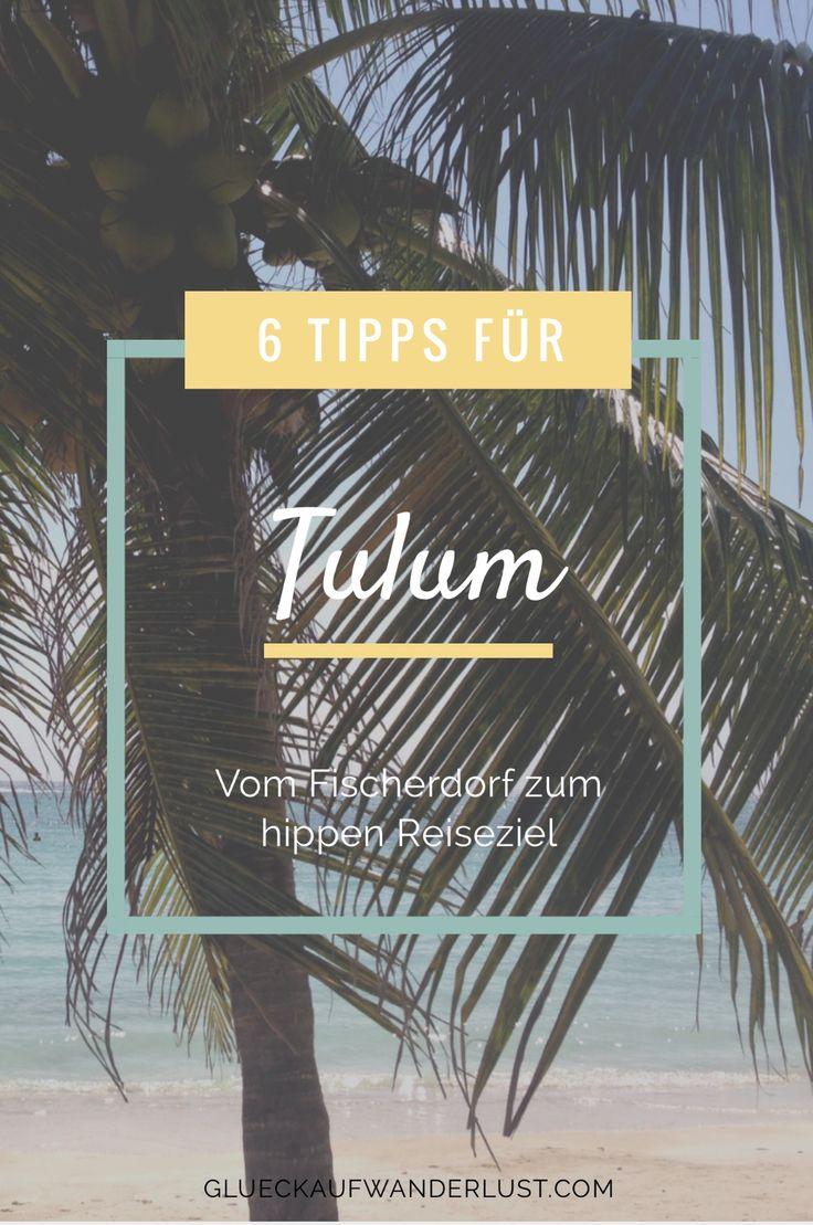 Ein Karibikparadies zum Entspannen, schnorcheln, radfahren. 6 Tipps für Tulum!