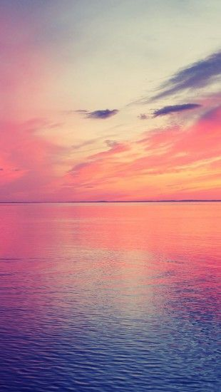 How To Make A Gif Your Wallpaper On Iphone Beautiful Sea Horizon Sunset Theiphonewalls Com