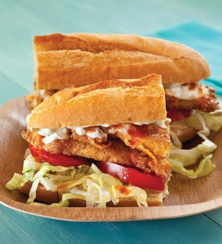 The Tremé (Fried Catfish Po' Boy) #Recipe