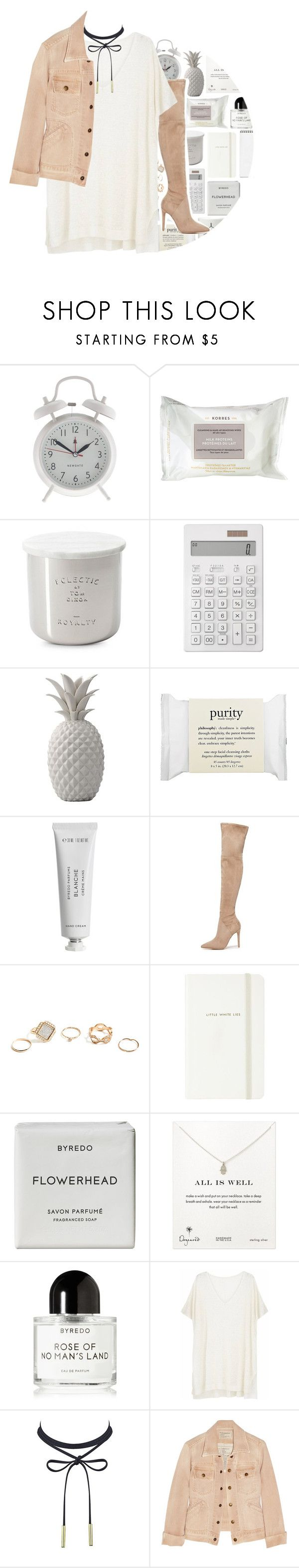 """""""6.7.17 // 60 Second Style: Instagram"""" by maevekaterina ❤ liked on Polyvore featuring J.Crew, Korres, Tom Dixon, Muji, Bloomingville, philosophy, Byredo, Kendall + Kylie, GUESS and Kate Spade"""