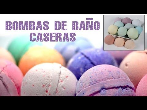 Cómo hacer Bombas de baño caseras * Lush Bath bomb - YouTube