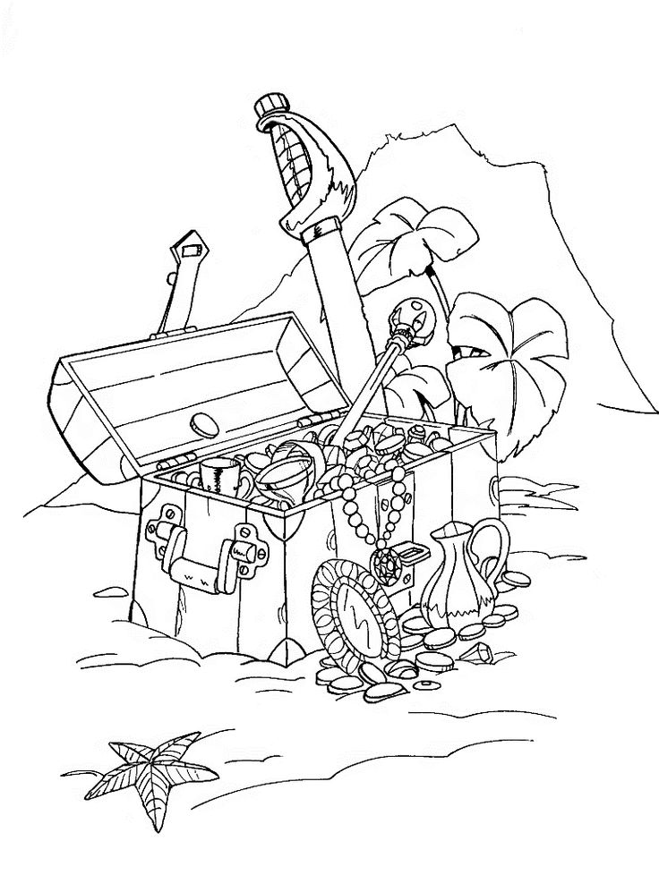 PirateShipColoringPagesPrintable