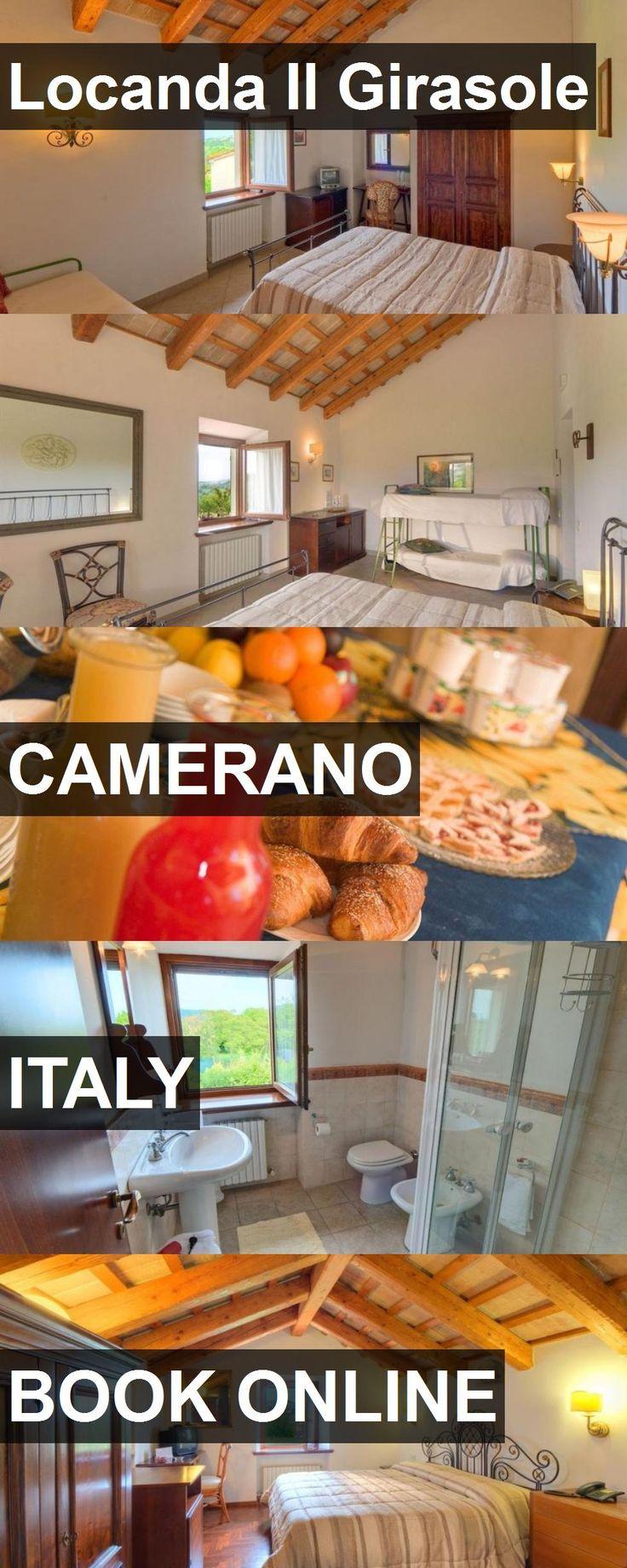 Hotel Locanda Il Girasole in Camerano, Italy. For more