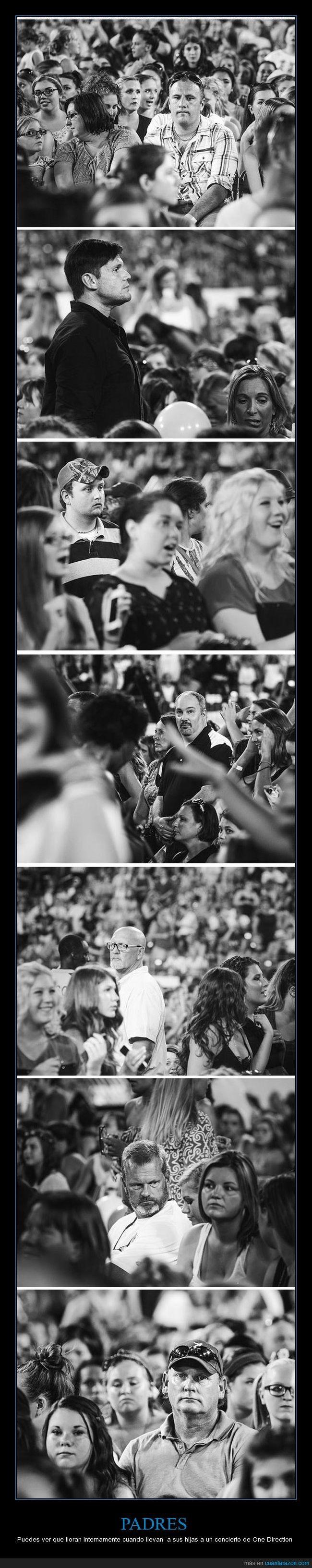 Éstas son las caras de los padres que llevan a sus hijas a un concierto de One Direction - Puedes ver que lloran internamente cuando llevan  a sus hijas a un concierto de One Direction   Gracias a http://www.cuantarazon.com/   Si quieres leer la noticia completa visita: http://www.estoy-aburrido.com/estas-son-las-caras-de-los-padres-que-llevan-a-sus-hijas-a-un-concierto-de-one-direction-puedes-ver-que-lloran-internamente-cuando-llevan-a-sus-hijas-a-un-concierto-de-one-d