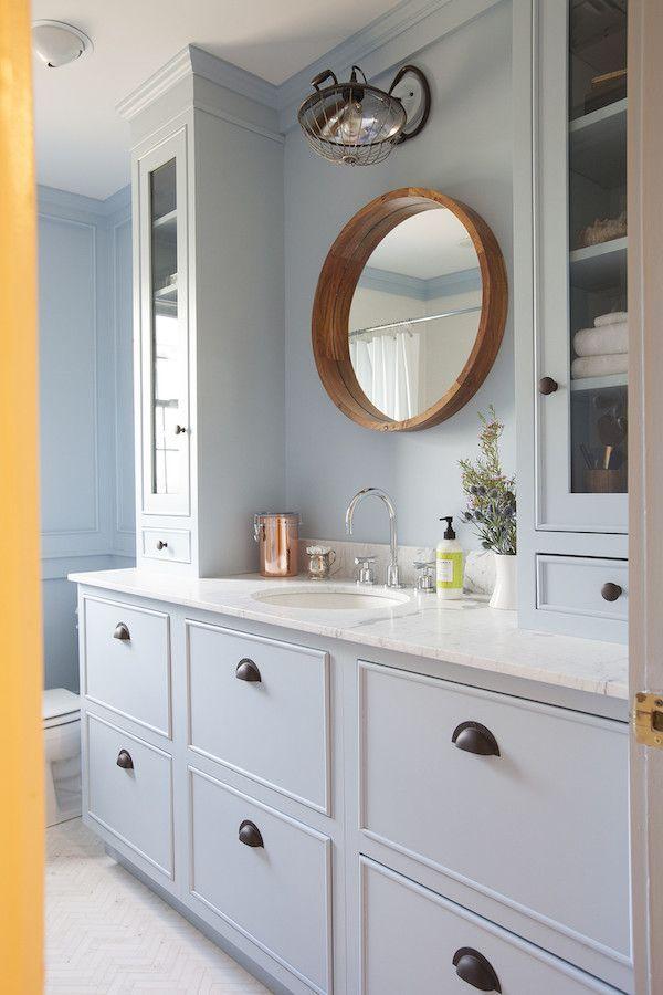 Les 25 meilleures id es de la cat gorie campeur salle de - Organisation salle de bain ...