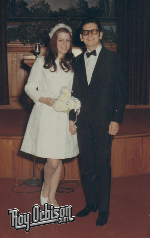 Barbara Jakobs and Roy Orbison married in 1969