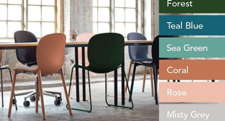 RBMs nye farver. moffice.dk. #farver2016 #design #nyhed #stole #lækrefarver #2016 #bolig #mode
