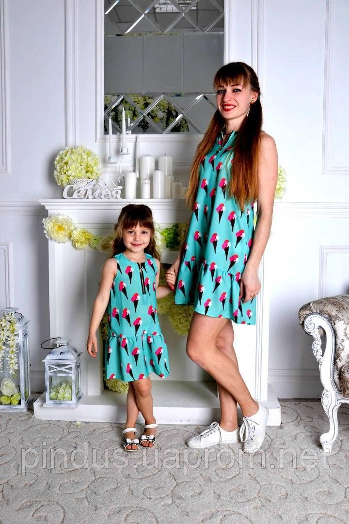 b1a9fc3ea29 Платье сарафан мама - дочка. Цена за 2 платья! Детское для девочки и женское