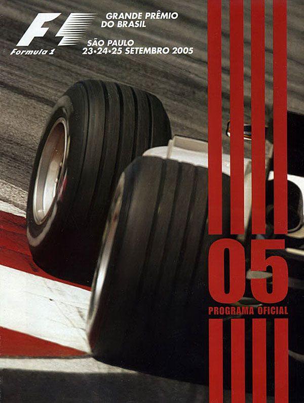25.09.2005 · Großer Preis von Brasilien · Interlagos | Formel 1 Event Artwork · … – Daniel Mai