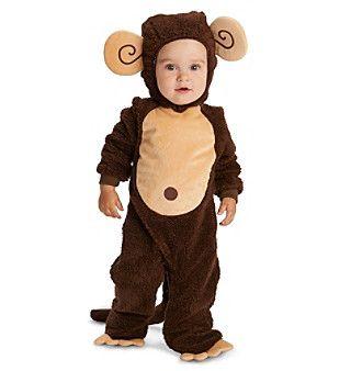 Loveable Monkey Baby Costume