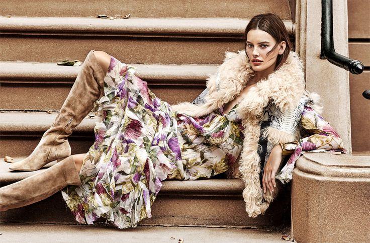 Cover Story | The modern folk star pieces, starring model Amanda Murphy | Magazine | NET-A-PORTER.COM