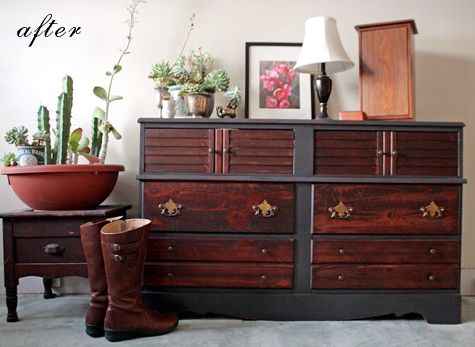 Love the look of this dresser