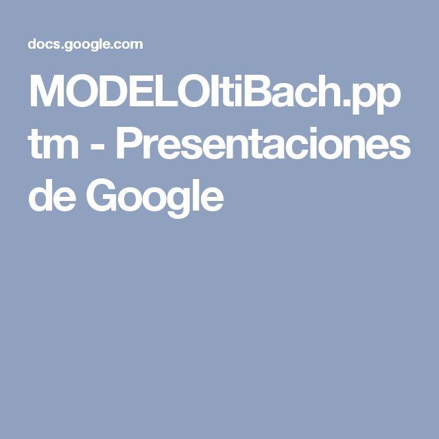 MODELOItiBach.pptm - Presentaciones de Google