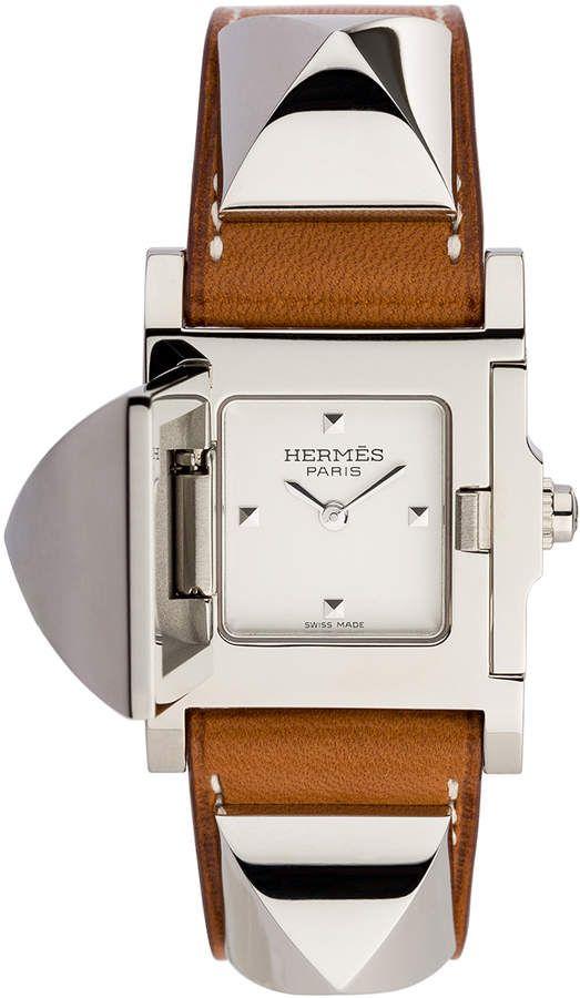 Hermes Medor pm   Watches   Pinterest   Hermes jewelry, Hermes watch ... 3f52ca531c9