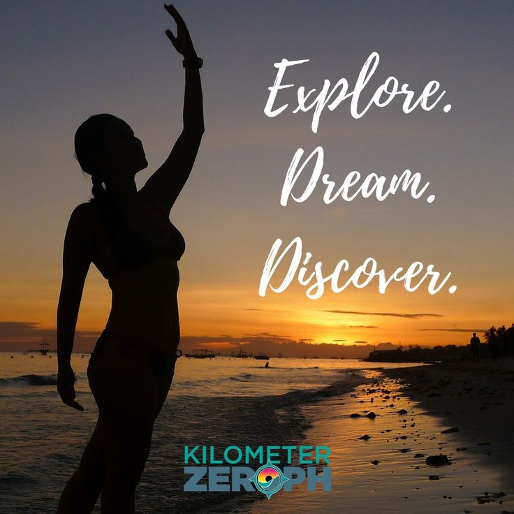 """""""Twenty years from now you will be more disappointed by the things you didn't do than by the ones you did do. So throw off the bowlines. Sail away from the safe harbor. Catch the trade winds in your sails. Explore. Dream. Discover."""" -Mark Twain #Explore #Dream #Discover #KilometerZeroPH #Travel #Words #TravelQuotes"""