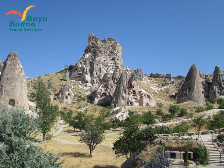 Cappadocia is one of world heritage, feel how we live in Flinstone era!^^