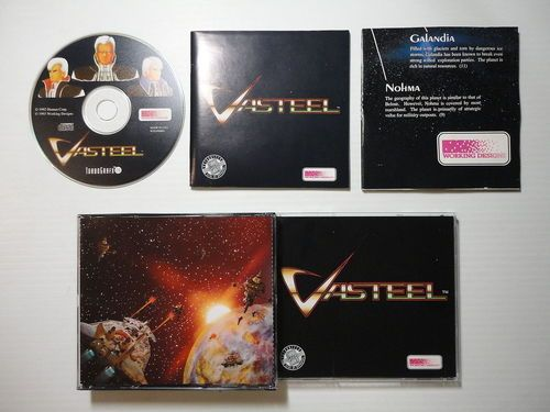 Vasteel (Super CD) - Turbografx 16 Game