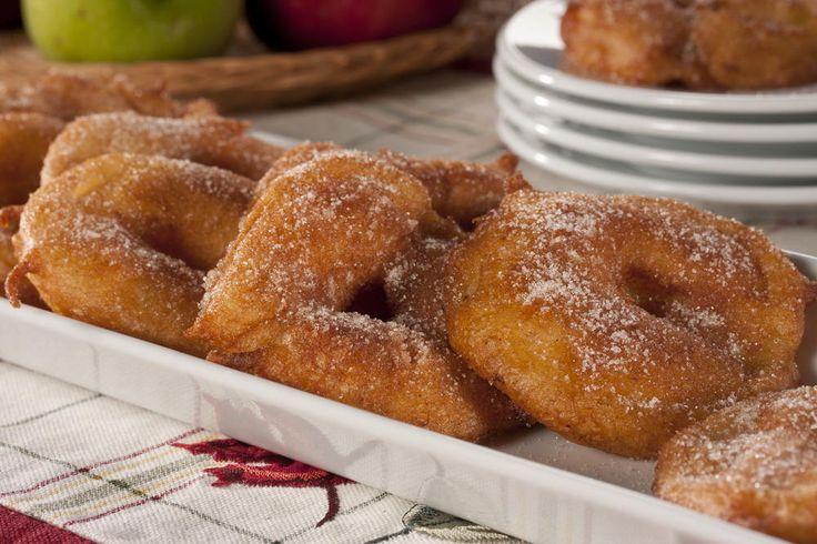 Crispy Apple Rings | MrFood.com