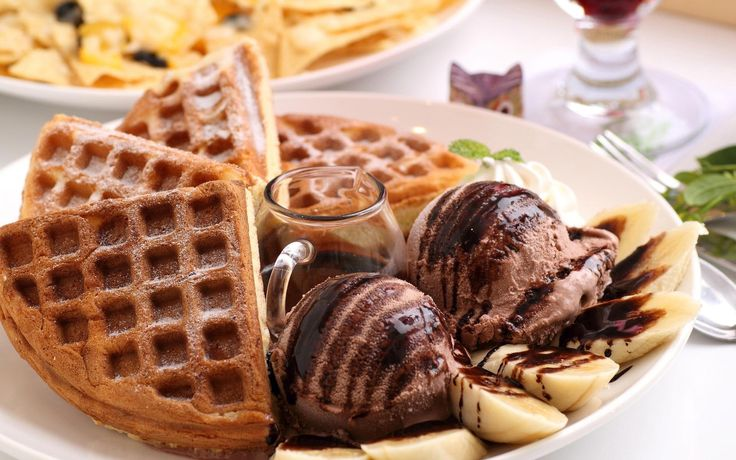 Waffle With Chocolate Ice Cream Waffles With Chocolate Ice Cream Photography 1920x1200 Ice Cream B Ice Cream Wallpaper Waffle Ice Cream Chocolate Ice Cream