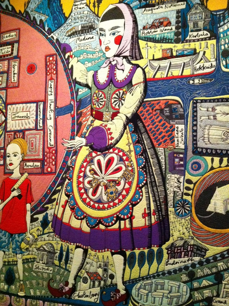 """The Tomb of the Unknown Craftsman"" curated by Grayson Perry"