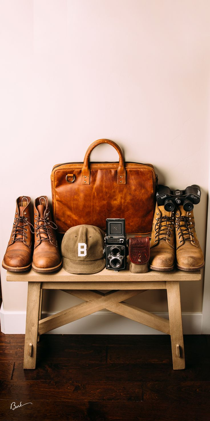 Red Wing Heritage Boots, Ona Bag, Bradley Mountain Hat, HoldFastGear modular system pouch. #myredwings #redwingboots #onabags #leathergoods #bootbench @onabags @bradleymountain @holdfastgear @redwingheritage @ebbetsvintage