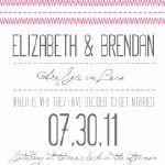 Free Wedding Invites, RSVP, and Save-the-date printables