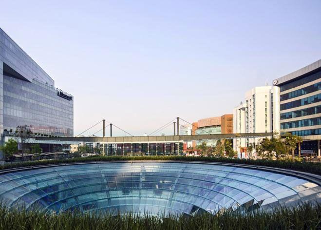 Garden Plaza Santa Fe, subterráneo y sustentable