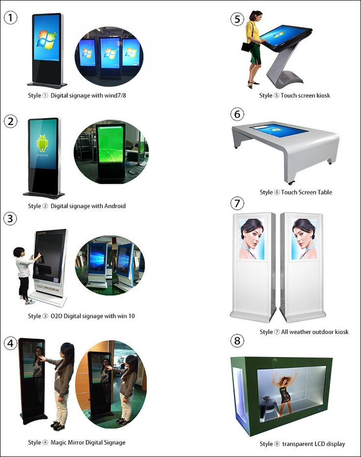 42 inch Android led commercial advertising display screen/lcd commercial ad…