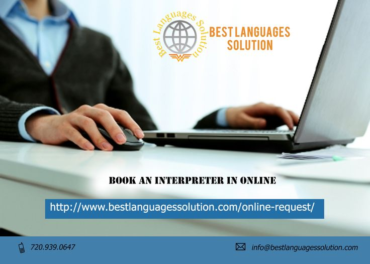 Request an #Interpreter Online, Interpretation #Services  Visit:http://www.bestlanguagessolution.com/online-request/  Best Languages Solution is giving an option for online requesting to their customers. The process of form fill up and submission is very easy. After providing basic information; you can avail interpretation services, language & phone interpreters through #online request.