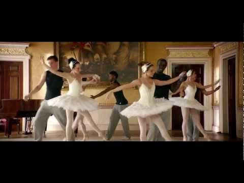 Ok.. this is an ad, but ...    Arsenal first team players Alex Song, Wojciech Szczesny, Alex Oxlade-Chamberlain and Bacary Sagna learn ballet moves with dancers from the English National Ballet